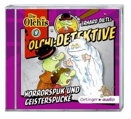Olchi-Detektive 9 - Horrorspuk und Geisterspucke (CD)
