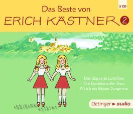 Das Beste von Erich Kästner 2 (3CD)