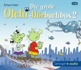 Die große Olchi-Hörbuchbox 2 (4 CD)