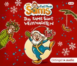 Das Sams feiert Weihnachten (3 CD)