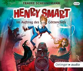 Henry Smart. Im Auftrag des Götterchefs (4 CD)