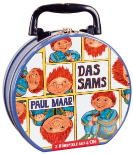 Das Sams - Mein Hörbuch-Koffer (4CD)