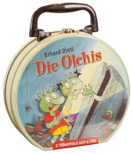 Die Olchis - Mein Hörbuch-Koffer (4CD)