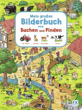 Mein großes Bilderbuch vom Suchen und Finden