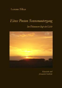 Eines Poeten Sonnenuntergang