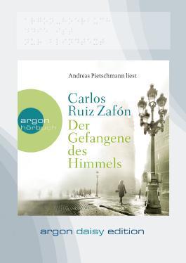 Der Gefangene des Himmels (DAISY Edition), 1 MP3-CD
