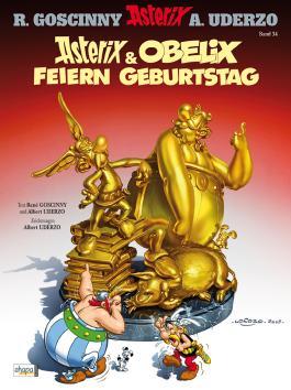 Asterix 34: Asterix und Obelix feiern Geburtstag