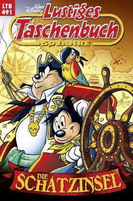 Disney Lustiges Taschenbuch Nr. 491: Die Schatzinsel