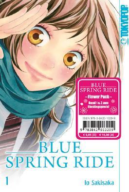 Blue Spring Ride Flower Pack