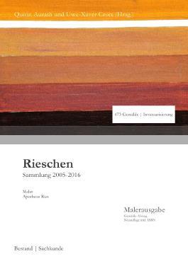 Sammlung Rieschen in 3. Auflage / Rieschen
