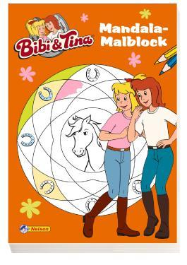 Bibi und Tina: Mandala-Malblock
