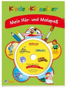 Kinder-Klassiker Malbuch mit CD