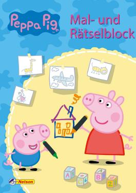 Peppa: Mal- und Rätselblock