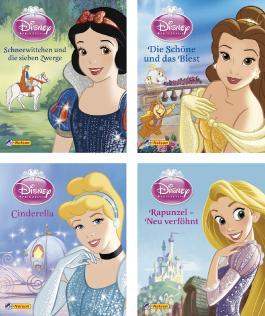 Nelson Mini-Bücher: 4er Disney Prinzessinnen 1-4