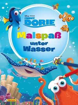 Disney Findet Dorie: Malspaß unter Wasser