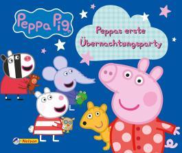 Peppas erste Übernachtungsparty