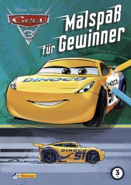 Disney Cars 3: Malspaß für Gewinner