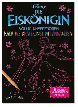Disney Die Eiskönigin: Kreative Kratzkunst mit Anna und Elsa