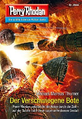 "Perry Rhodan 2844: Der Verschwiegene Bote (Heftroman): Perry Rhodan-Zyklus ""Die Jenzeitigen Lande"" (Perry Rhodan-Erstauflage)"