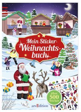 Mein Sticker-Weihnachtsbuch