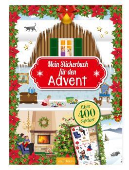 Mein Stickerbuch für den Advent