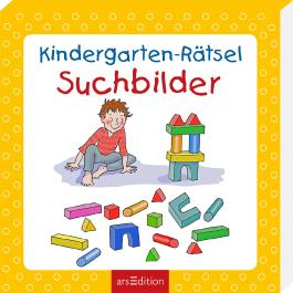 Kindergarten-Rätsel Suchbilder