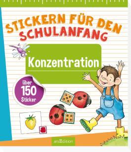 Stickern für den Schulanfang - Konzentration