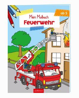 Malbuch ab 5 Jahren - Feuerwehr VE 5