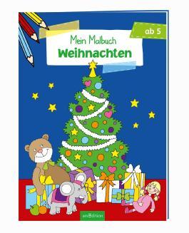 Malbuch ab 5 - Weihnachten VE 5