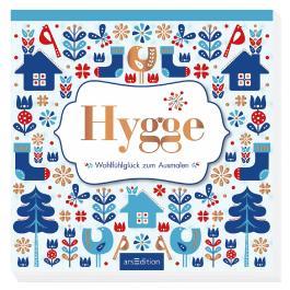 Hygge - Wohlfühlglück zum Ausmalen