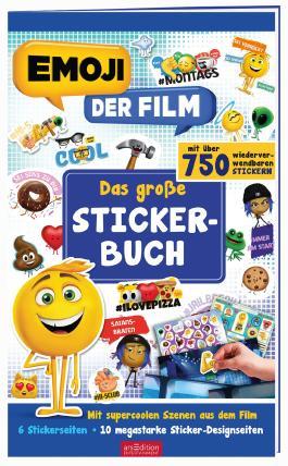 emoji - Das große Stickerbuch
