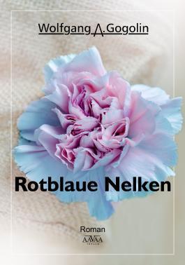 Rotblaue Nelken - Großdruck