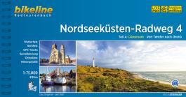 Nordseeküsten-Radweg. 1:75000 / Nordseeküsten-Radweg Teil 4