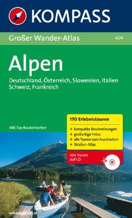 Großer Wander-Atlas Alpen