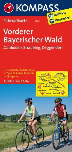 Vorderer Bayerischer Wald - Gäuboden - Straubing - Deggendorf