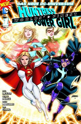 Worlds' Finest: Huntress & Power Girl