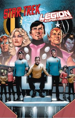 Star Trek vs. Legion of Super-Heroes