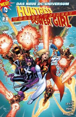 Worlds' Finest: Huntress & Power Girl
