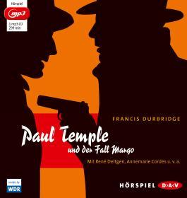 Paul Temple und der Fall Margo (mp3-Ausgabe)