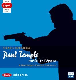 Paul Temple und der Fall Spencer (mp3-Ausgabe)