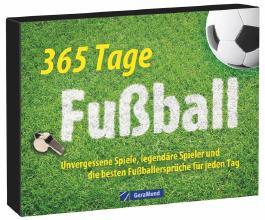 Tischaufsteller - 365 Tage Fußball