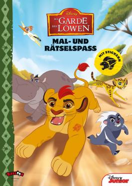 Die Garde der Löwen - Mal- und Rätselspaß