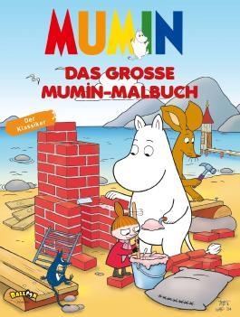 Mumins - Das große Mumin-Malbuch