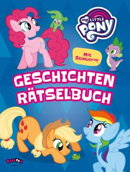 My Little Pony - Geschichten-Rätselbuch