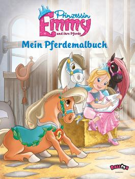 Prinzessin Emmy - Mein Pferdemalbuch