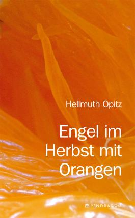 Engel im Herbst mit Orangen