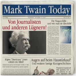 Mark Twain: Von Journalisten Und Anderen Lügnern