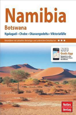 Nelles Guide Reiseführer Namibia - Botswana