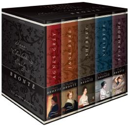 Brontë - Die großen Romane (im Schuber) - Agnes Grey - Jane Eyre - Villette - Shirley - Sturmhöhe
