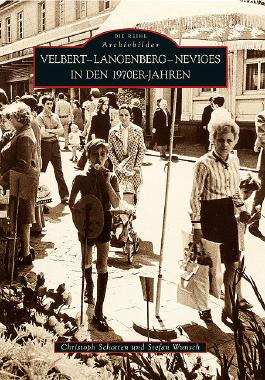 Velbert-Langenberg-Neviges in den 1970er-Jahren